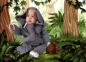 Jungle Baby by dhrandy