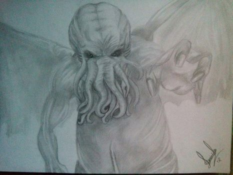 //Cthulhu//lovecraft// by Lady-Sweet-Suicide