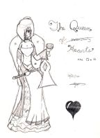 The Queen of Hearts by SeangelSaph