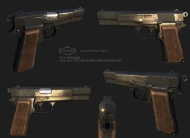 Browning HP by Mellon3D