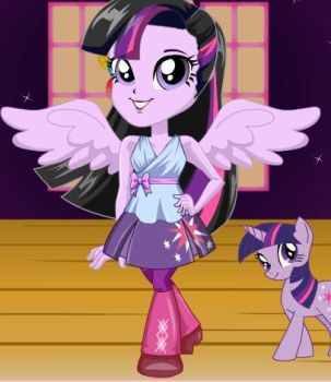 Twilight Sparkle Eg by lilymouse385
