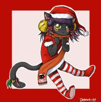Christmas Isis by 2Dea