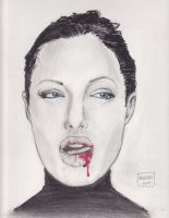 Angelie Jolie portrait by Justin1592