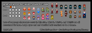 Head Size in Low-Res Sprites 8x8 15.04.12 by JustinGameDesign