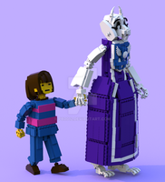 Lego Undertale Frisk 2 by pb0012
