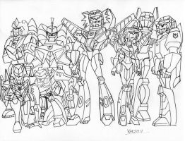 DECEPTICONS BREASTFORCE (ANIMATED STYLE) by VectorMagnus2011