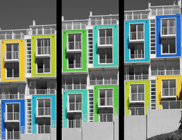 Colorful Buildings by drowe1016