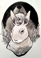 Inktober Day 3 by Papercut-Cranes