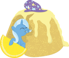 Food Series: Trixie - Steamed Lemon Pudding by StargazeSchrecken1