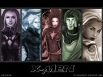X-MEN wallpaper tones by icyheart