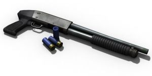 Ithaca 37 Shotgun by Dbl-Dzl