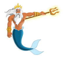King Triton by mr-suavemente