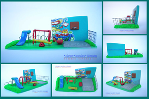 batibot playground by Dinuguan