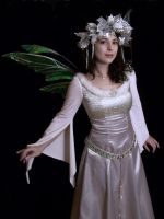 Winter Fairy Queen costume by FaeryAzarelle