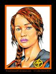 The Hunger Games: Katniss Everdeen by PrinceDamian92