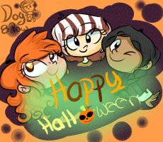 Happy Halloween!!! by DogPaw8