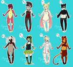 Human Adopts :Points: by FlyawayHeart