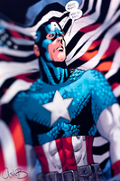 Captain America by AshBimages