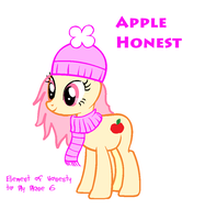 Element of Honesty to my mane 6 by MaguiPinkie