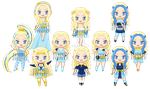 ChibiP: Winx Ciela by blknblupanther