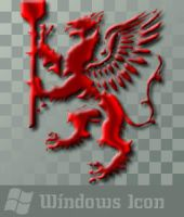 Griffin - Red - Icon by ssx