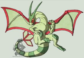 real flygon by Japandragon
