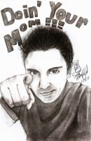 Sketch: Ray William Johnson by mitsukai-art