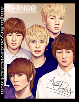 SHINee by singinferyoo