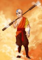 Aang by MargoMeiko