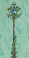 Kiriban custom Jeweled Staff by Forged-Artifacts