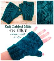 Knit Cabled Mits by the-carolyn-michelle