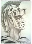 Roman Soldier by ArtsCaptive
