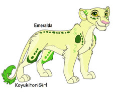 Emeralda +Crystarium Lion+ by Sacredfire200