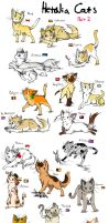 Hetalia Cats Part 2 by ShootingStar2552