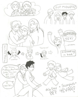 HP7 Doodle Dump TWO -spoilers- by MandyPandaa