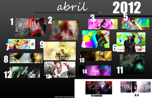 Abril 2012 by SoraDesign