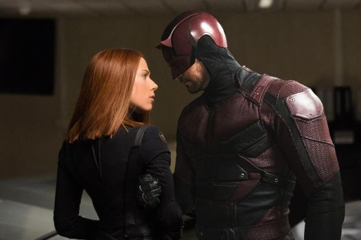 Black Widow and Daredevil by Timetravel6000v2