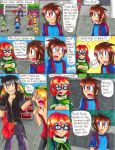 Megaman: S-H-D Manga Page 4 by Sonicbandicoot