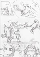Comic page Battle Frontier 01 by Magibu