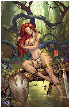Red Sonja by arf