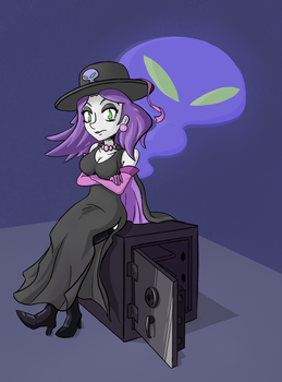 Jewel The Ghoul by Sinistarthas