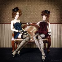 Parlor Girls by Mistress-S