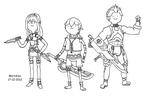Xenoblade Adventure Time style 01 by Mortdres