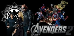 Fan-Made The Avengers 2 Movie Banner by batmanadik05