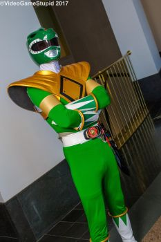 Anime Boston 2017 - Green Ranger by VideoGameStupid