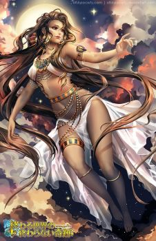 Nuit, Egyptian Goddess of the Sky by ofSkySociety