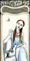 Sansa Stark - A Song Of Ice And Fire by ETdecora