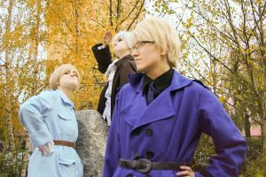 Hetalia - Nordic Three by LucifersServant