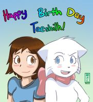 Happy Bday Taeshi by vicse