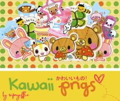 Kawaii PNGs by Superyuffie